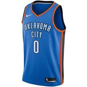 Russell Westbrook Oklahoma City Thunder Nike Icon Edition Swingman Jersey